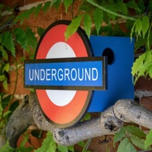 London Underground Birdhouse