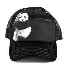 Panda Protect My Home Trucker Cap