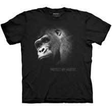 Protect My Habitat - Gorilla Unisex T-shirt