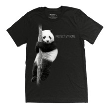 Protect My Home - Panda Unisex T-Shirt