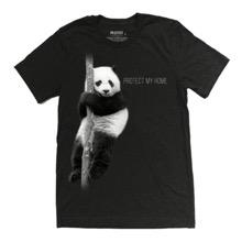 Protect My Home - Panda Unisex T-Shirt