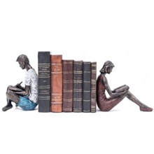 Young Couple Bookends