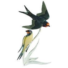 Swallow Pair Figurine