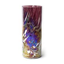 Iridescent Cylinder Vase