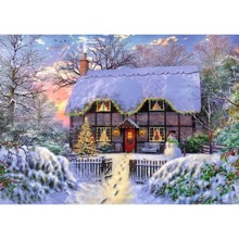The Writer's Cottage 1000 Piece Jigsaw