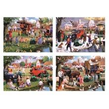 The Village Green 4 X 1000 Piece Jigsaws