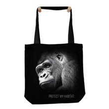 Protect My Habitat Gorilla Tote Bag