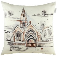 Country Church Cushion