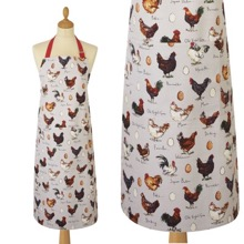 Chicken and Egg Cotton Apron