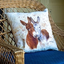 Jack and Diane Donkey Cushion