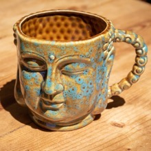 Porcelain Buddha Mug