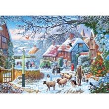 A Winter Stroll 1000-piece Jigsaw