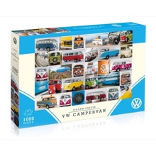 VW Campervan 1000 piece jigsaw