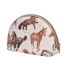 Running Horse Cosmetic Purse