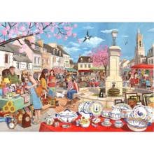 French Market 1000 Piece