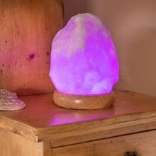 Colour Change Salt Lamp