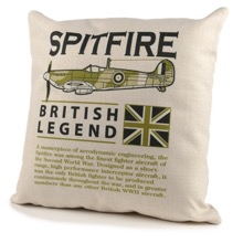 Spitfire British Legend Cushion