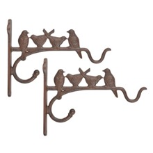 Hanging basket bracket set of x 2