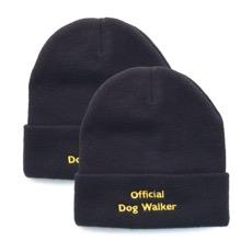 Official Dog Walker Hat Set