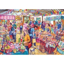 Village Tombola 1000 Piece Jigsaw