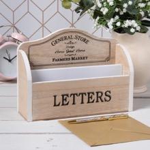Farmers Market Letter Rack