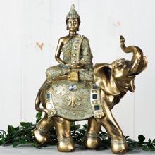 Thai Buddha on Elephant