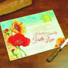 Home, Family, Faith Work Surface Protector