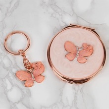 Butterfly Keyring and Compact Set