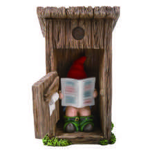 Naughty Gnome Outhouse