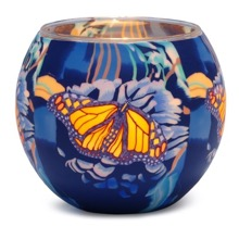 Butterfly Blue Tea Light Holder