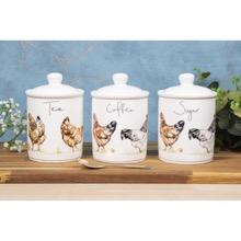 Tea, Coffee & Sugar Storage Jars