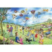 Lets go Fly a Kite 250 XL Piece Jigsaw