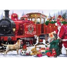 Santa's Express 1000-Piece Jigsaw