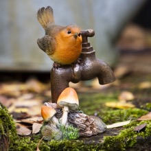 Robin on Garden Tap