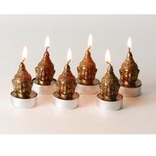 Set of Six Buddha Candles