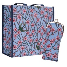 Oriental Shopper and Glasses Case Set