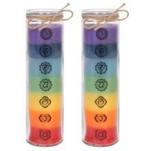 Chakra Candle Saver Set