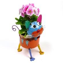 Bright Eyed Cat Planter