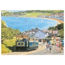 Seaside Tram 1000 Piece Jigsaw