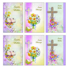 Easter Wishes Card Saver Set