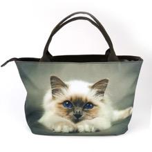 Cat Print Bag