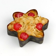 Rich Fruit and Nut Star Cake