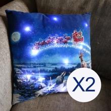 Magic of Christmas Cushions Set of Two